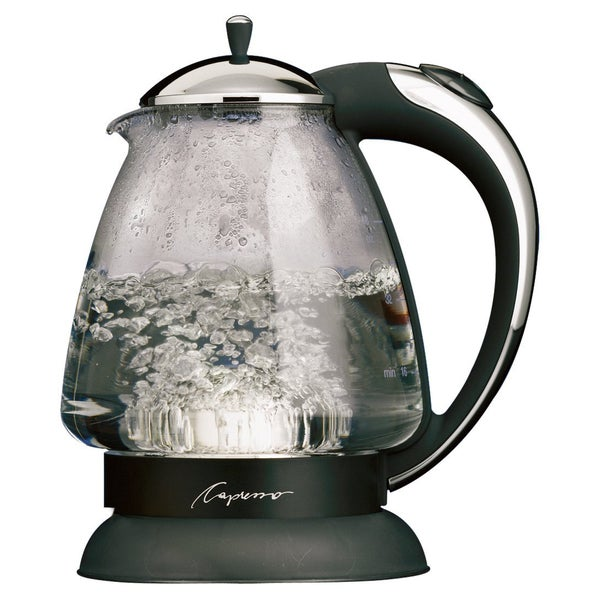Capresso Chrome Refurbished 6-cup Water Kettle