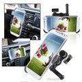 BasAcc Swivel Car Air Vent Holder Mount/ Plate for Samsung Galaxy S4