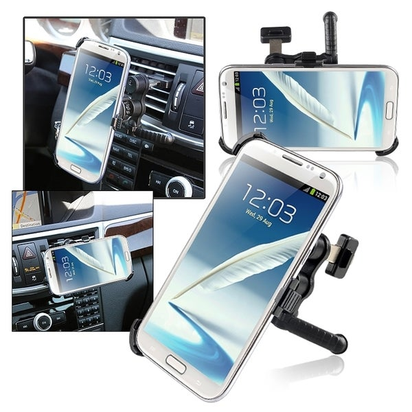 INSTEN Car Air Vent Holder Mount/ Plate for Samsung Galaxy Note II