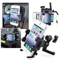 BasAcc Universal Phone Holder Plate/ Swivel Car Air Vent Holder Mount