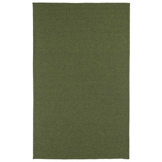 Malibu Indoor/Outdoor Woven Green Rug (3'0 x 5'0)