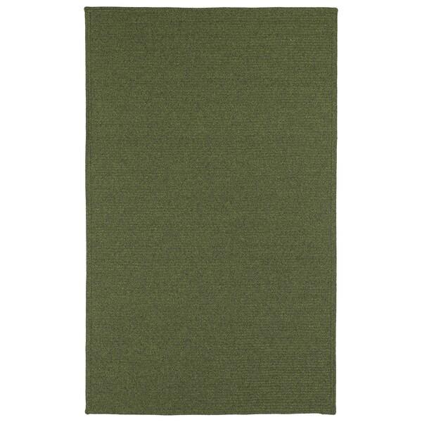 Malibu Indoor/Outdoor Woven Green Rug (2'0 x 3'0)