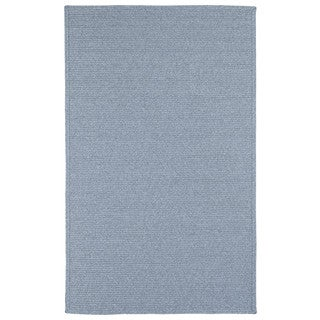 Malibu Indoor/ outdoor Woven Light Blue Rug (5'x 8')