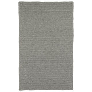 Malibu Indoor/ outdoor Woven Grey Rug (8'x11')