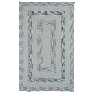 Malibu Indoor/ outdoor Woven Blue Rug (3'x5')