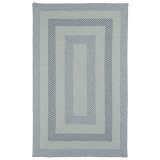 Malibu Indoor/ outdoor Woven Blue Rug (5'x8')