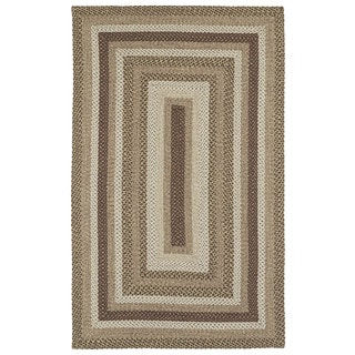 Malibu Indoor/ outdoor Woven Mocha Rug (5'x8')