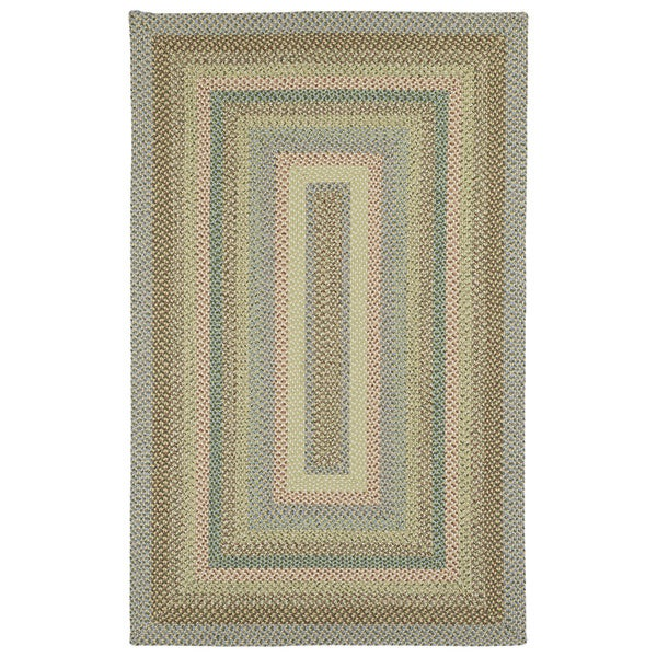 Malibu Multicolored Woven Indoor Outdoor Area Rug 9 x