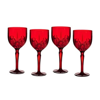 Marquis by Waterford Brookside Red All Purpose Wine Glasses (Set of 4)