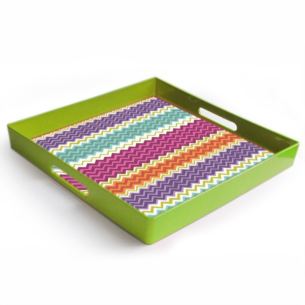 French Market Square Tray