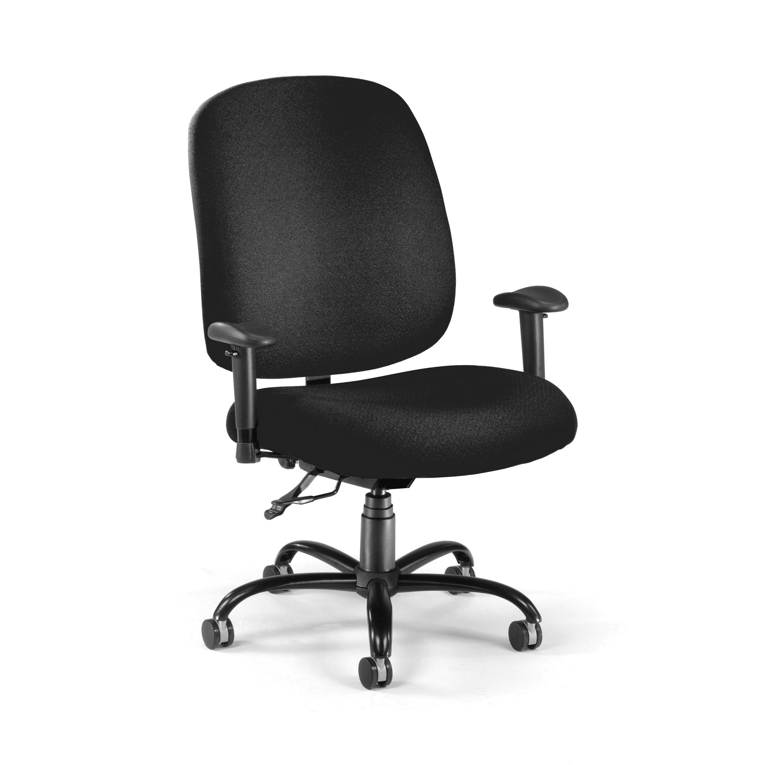 Adjustable Ergonomic Black Office Chair