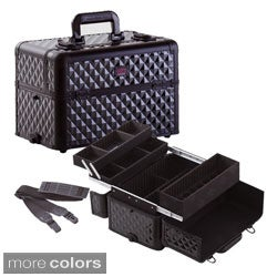 Seya 3 Trays Nail Polish Organizer Makeup Case