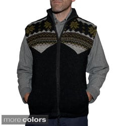 Men's Woolen Sweater Vest (Nepal)