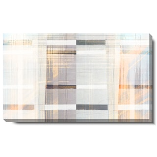 Studio Works Modern 'Luxor Waves - Gold' Gallery Wrapped Canvas