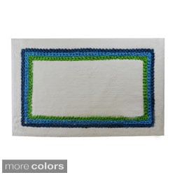 Canon Border Cotton 20 x 30 Bath Rug (Set of 2)