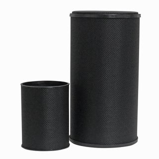 1530 Black Lamont Home Basketweave (Set of 2)