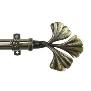 Luck Adjustable Antique Brass Curtain Rod