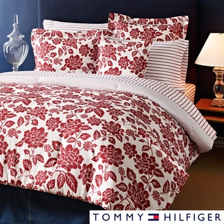Tommy Hilfiger Smithfield Floral 3-piece Cotton Reversible Comforter Set