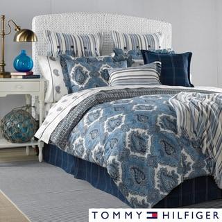Tommy Hilfiger Oaks Bluff 3-piece Cotton Reversible Comforter Set