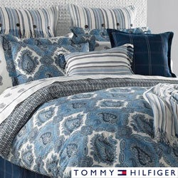 Tommy Hilfiger Oaks Bluff 3-piece Cotton Reversible Comforter Set
