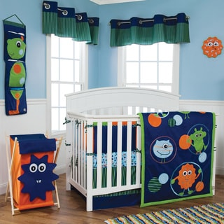 Trend Lab Snuggle Monster 5-piece Crib Bedding Set