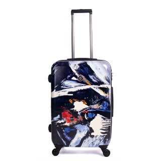 Neocover Midnight Madness 28-inch Large Hardside Spinner Upright Suitcase