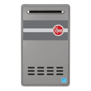Rheem RTG-95XLP 9.5 GPM Low NOx Outdoor Tankless Propane Water Heater