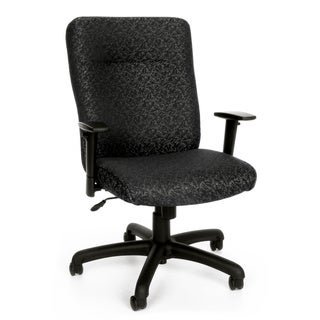 OFM Black/Grey Adjustable Office Chair