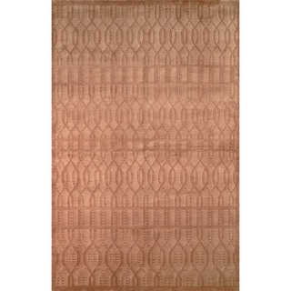 Safavieh Hand-knotted Tibetan Camel Wool Rug (6' x 9')