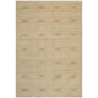 Safavieh Hand-knotted Tibetan Sand Wool Rug (10' x 14')