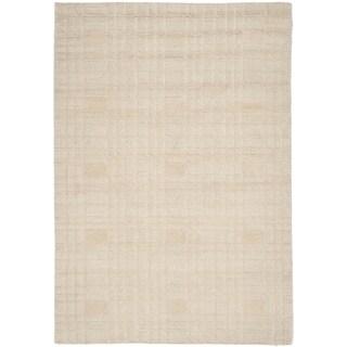 Safavieh Tibetan Ivory Hand-knotted Wool Area Rug (5' x 7'6)