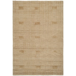 Safavieh Hand-knotted Tibetan Gold Wool Area Rug (9' x 12')