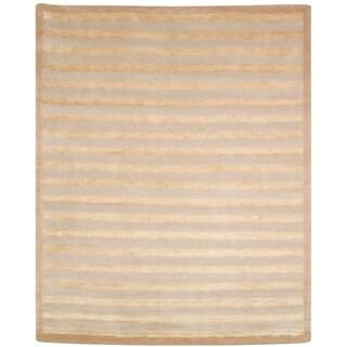 Safavieh Hand-knotted Tibetan Ivory Wool/ Silk Area Rug (8' x 10')
