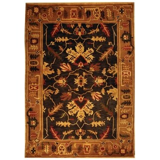 Safavieh Hand-knotted Tibetan Multicolored Rectangular Wool Rug (6' x 9')