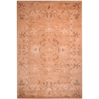Safavieh Hand-knotted Tibetan Multicolored Floral Wool Rug (9' x 12')