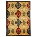 Safavieh Hand-knotted Tibetan Geometric-pattern Multicolored Wool Rug (8' x 10')