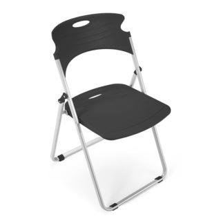 OFM Charcoal Folding Chair 303-Chair
