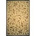 Safavieh Hand-knotted Tibetan Multicolored Wool/ Silk Area Rug (9' x 12')