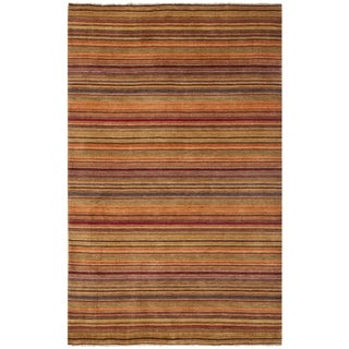 Safavieh Hand-knotted Tibetan Red Wool Area Rug (4' x 6')