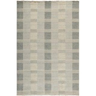 Safavieh Hand-knotted Tibetan Grey Wool Rug (4' x 6')