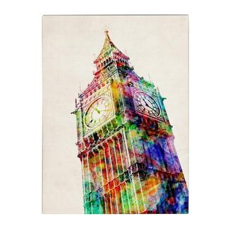 Michael Tompsett 'Big Ben' Canvas Art