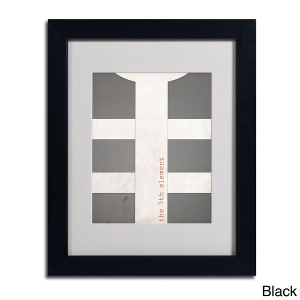 Megan Romo 'Fifth Element' Framed Matted Art