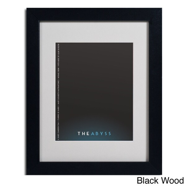 Megan Romo 'The Abyss' Framed Matted Art