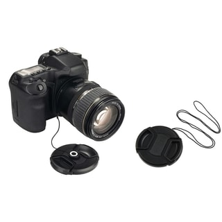 BasAcc Lens Cap/ Lens Cap Holder for Fuji S1000FD S1000 FinePix Camera