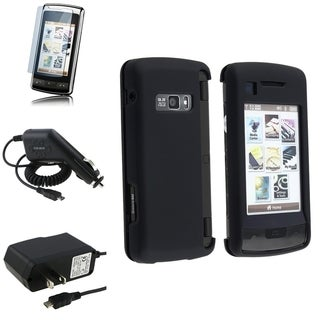 BasAcc Charger Set/ Case/ LCD Protector for Verizon LG EnV Touch