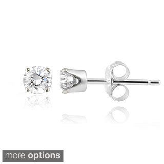 14k Gold Diamond 1/4ct TDW Round Stud Earrings