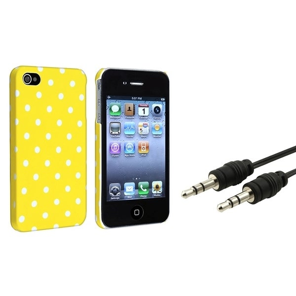 BasAcc Snap-on Case/ Audio Cable for Apple iPhone 5