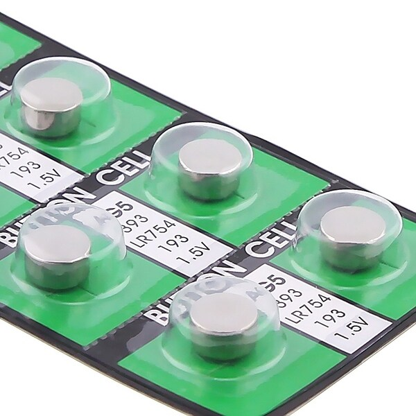 INSTEN AG5 Button Cell Lithium Battery (Pack of 50)
