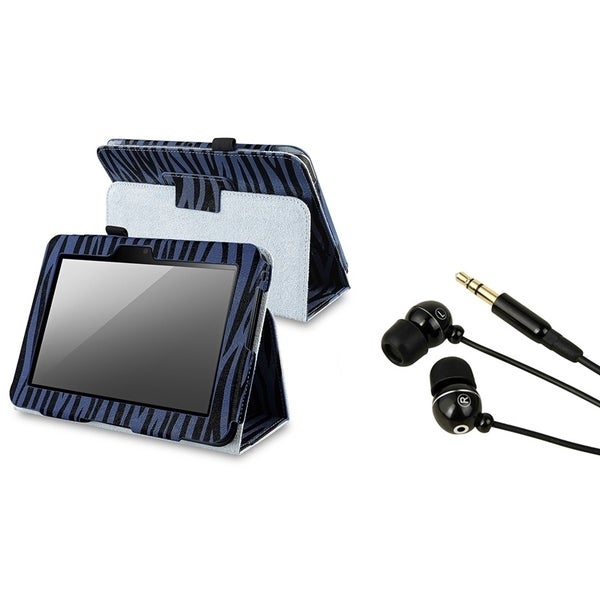 BasAcc Case/ Stereo Headset for Amazon Kindle Fire HD 7-inch