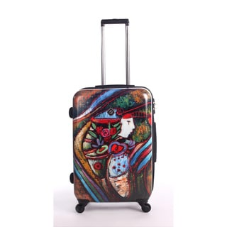Neocover Lady Harvest 28-inch Hardside Spinner Upright Suitcase